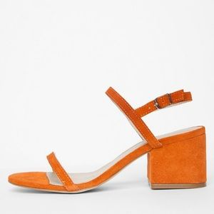 Matisse Stella Sandal in tangerine sz 9